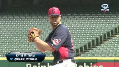 Kluber set for return to mound on Saturday