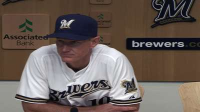 Brewers coaches, executives meet to evaluate squad
