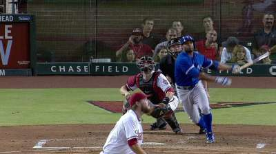 Encarnacion leads charge in rout of D-backs