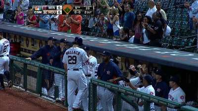 Barnes' heroics not enough in loss to Twins