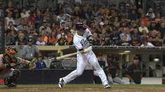 Padres edge Giants after Erlin's up-and-down night