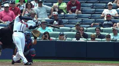 Homers cost Loe as Braves fall to Mets