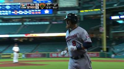 Twins rally before falling to Astros in ninth