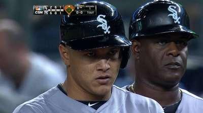 Swinging hot bat, A. Garcia gets game off vs. O's
