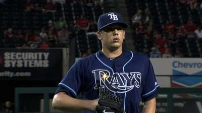 Hellickson's return has Rays' rotation back together