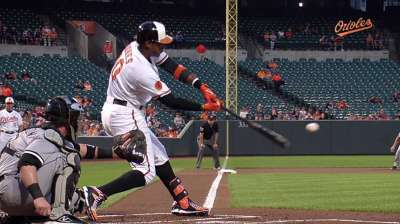 O's take care of White Sox one run at a time