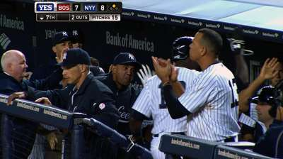 Bronx bummer: After rally, Yankees fall in extras