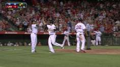 Young Angels lead way to split series with Rays