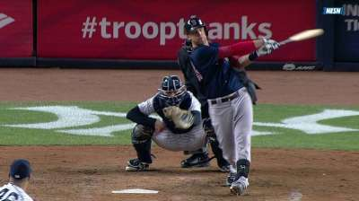 Middlebrooks continues to excel from No. 9 spot