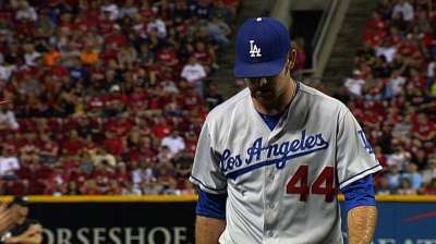 Weary Dodgers 'pen without Withrow in Arizona