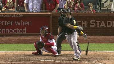 Pirates fall as Cards gain ground in NL Central