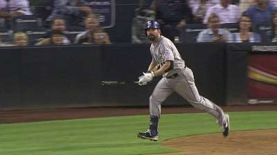 Helton's blast not enough, as Rockies' 'pen falters