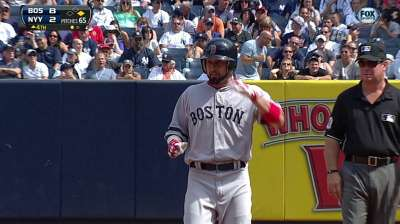 Victorino gets night off to stay fresh down stretch