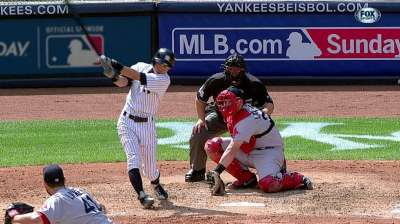 Huff's struggles too much for Yanks to overcome