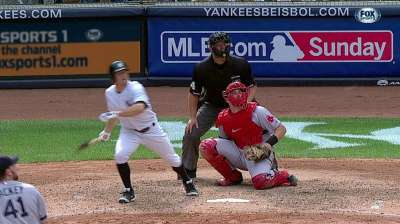 Facing southpaw, Gardner held out of lineup