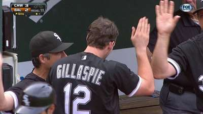 White Sox can't hold lead after Gillaspie's home run
