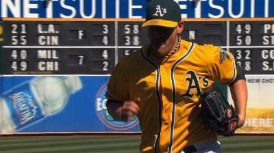 Straily's gem keeps A's on top in AL West