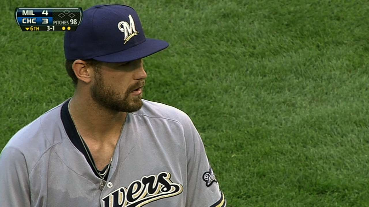Hellweg bulks up for Brewers camp