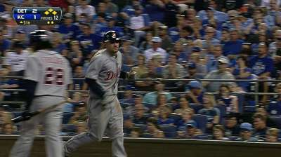 Verlander's pitch for win over KC goes awry