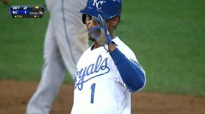 Dyson wants to be Royals' main running man