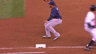 Out of nowhere, Torres fixture in Rays' bullpen
