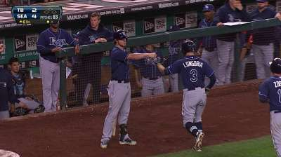 Longoria nears impressive home run mark