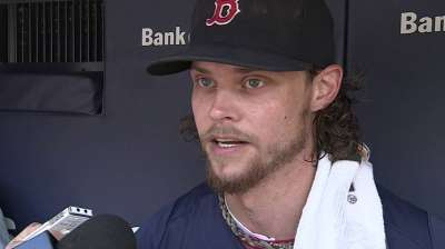 Buchholz in line to return Tuesday against Rays