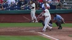 Ruf's blast picks up Hamels as Phillies sweep Braves