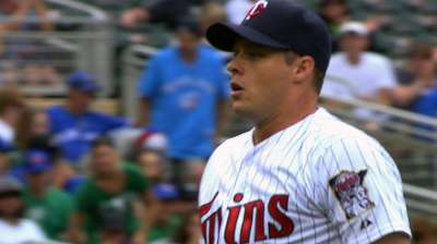 Albers' excellent start for naught as Twins blanked