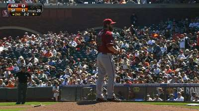 Miley strong, but D-backs fall in extra innings