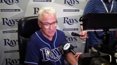 After long West Coast trip, Rays glad to be home