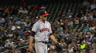 Astros reflect on Cosart's solid rookie season