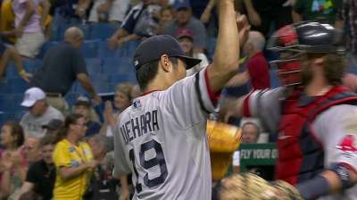 Uehara extends perfect streak with four-out save