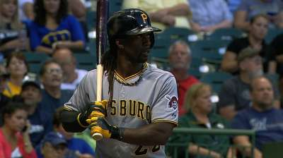 Hurdle sticks to rotation, as McCutchen gets day off