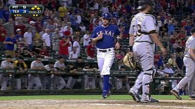 Rangers struggling with runners in scoring position