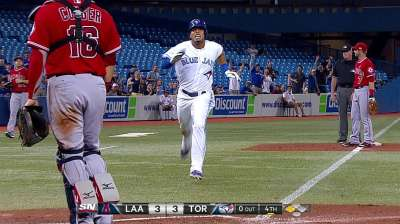 Blue Jays start fast, but fizzle, in loss to Angels