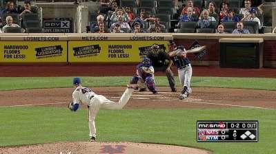 Pitcheo de Nacionales silenció a ofensiva de Mets