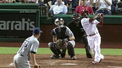 Rollins one home run shy of elite mark
