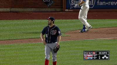 Haren dominates as Nats stay six back