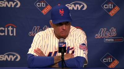 Mets to scale back to five-man rotation