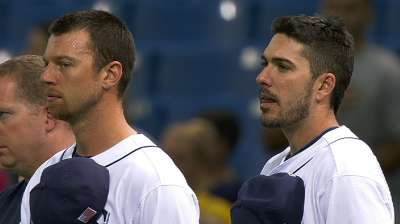 Rays honor those who perished on 9/11