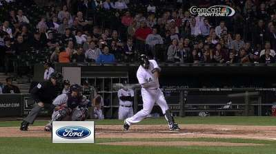 Danks hit early and often as Indians rout White Sox