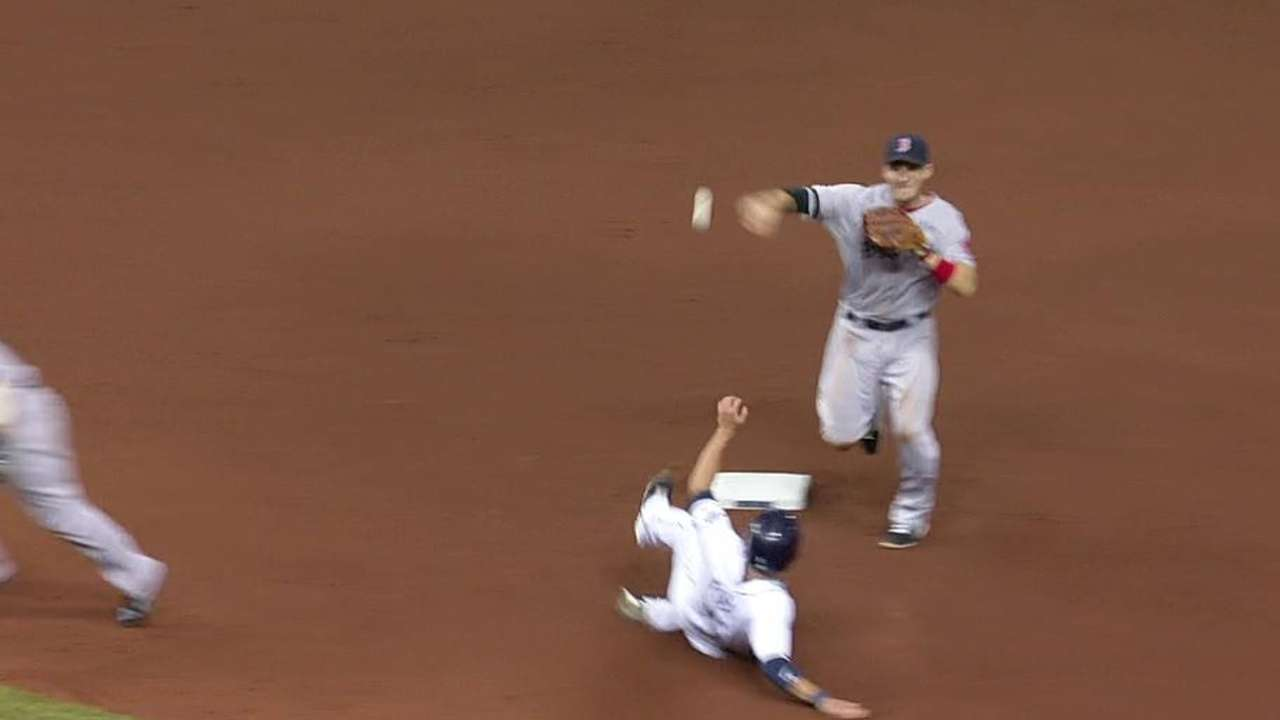 Britton starts double play