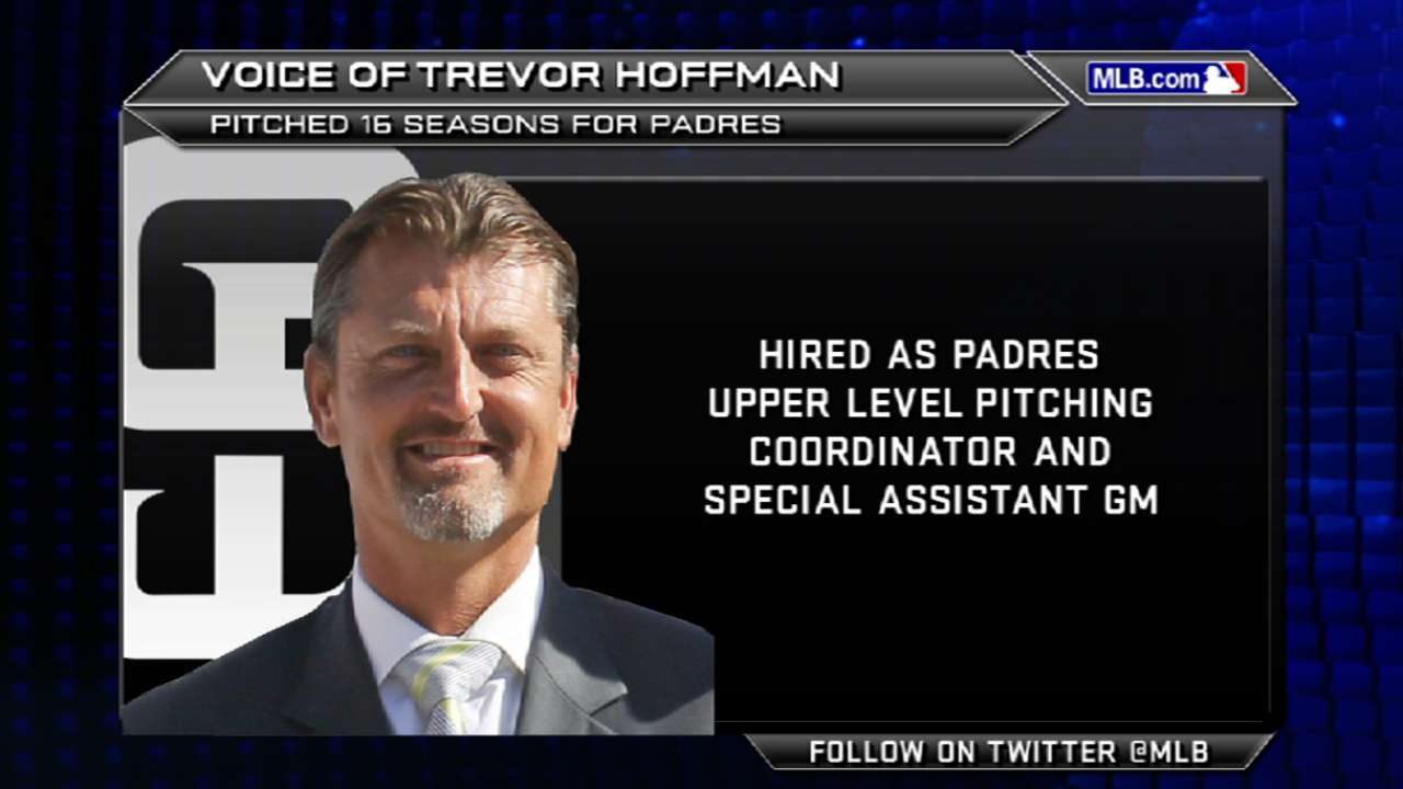 Hoffman set to impart wisdom to upper-level arms