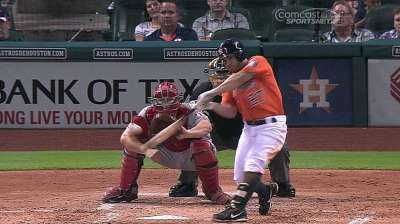 Altuve named Astros' 2013 Clemente Award nominee