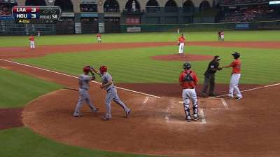 Scioscia balances playing time for LA backstops