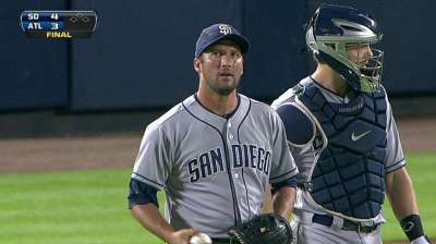 Padres wrap up month of strong pitching