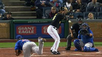 Pirates edged by Cubs, fall to second place in Central