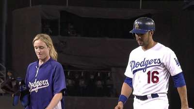 Ethier might be limited to pinch-hitting in NLDS