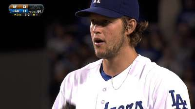 Kershaw loses, but Dodgers inch closer to clinch